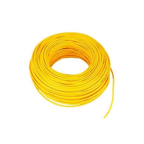 Mauli cab (Manufacturing brand ) Yellow Wire Cable