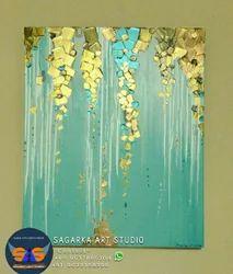 Acrylic On Canvas Art