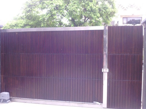 Stainless Steel Automatic Sliding Gate