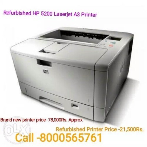 Hp 5200 Laserjet Refurbished A3 Printer