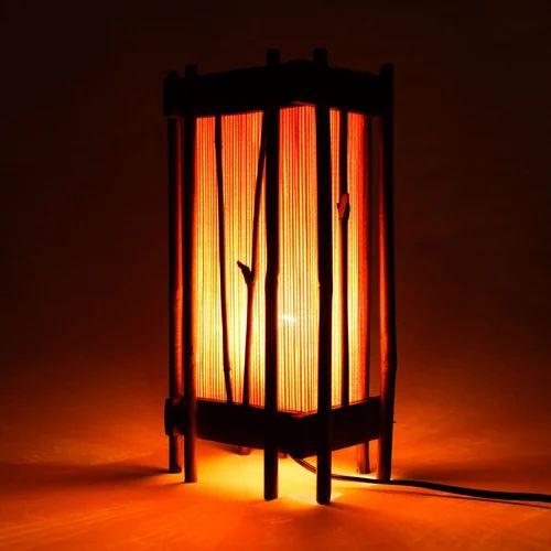 Bamboo Frame Lamp