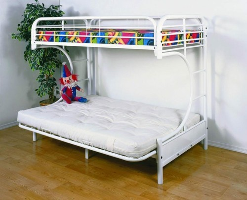 Twin Over Full Metal Bunk Bunk Beds Online बक बड Unique