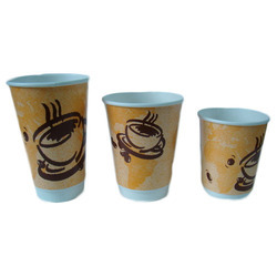 Disposable Paper Coffee Glass