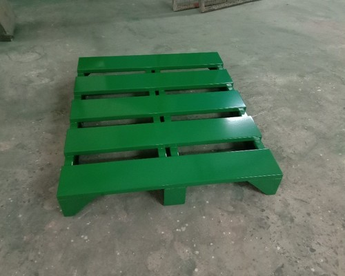 Arr Engineering Green Two Way Metal Loading Pallet