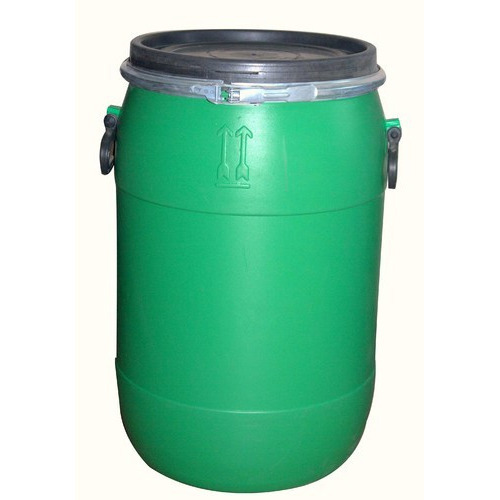 Black Hdpe Plastic Drum 60 Liter For Water Storage Rs 300 Piece