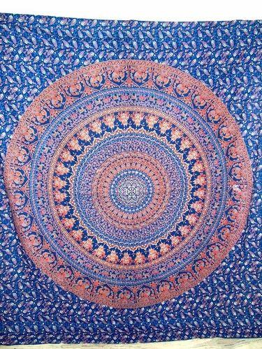 Indian Hippie Bohemian Mandala Tapestry Gypsy Wall Decor at Rs 250 ...