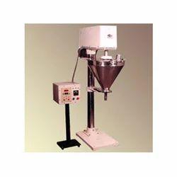 Semi Auto Powder Auger Filler machine