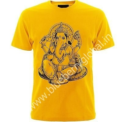 606f0624 Men Ganesh Utsav T-Shirt, Rs 100 /piece, Blueberry Global Trading ...