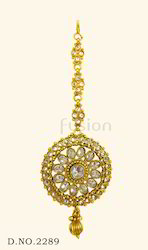Antique American Diamond Bridal Tikka