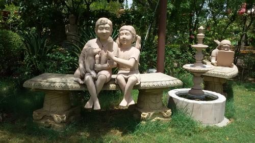 Miraculous Natural Sandstone Garden Sculptures Theyellowbook Wood Chair Design Ideas Theyellowbookinfo