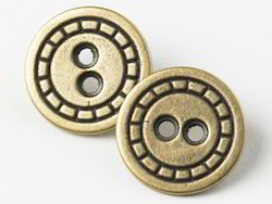 Alloy Buttons