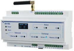 Interface Controller with I/Os for Remote Monitoring EM-486