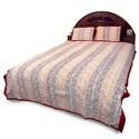 Jaipuri Pure Double Bed Sheet Pillow Set 351