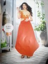 Sanvi Catalog  Gown Full Long Up And Down