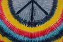 Tie Dye Peace Tapestry Bohemian Indian Wall Hanging