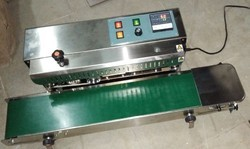 SS Horizontal Band Sealing Machine