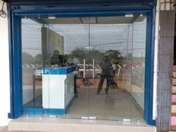 DORMA or OZONE Patch Fitting Glass Door for Office, Thickness: 12 mm