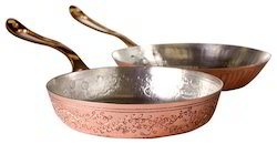 Copper Sizzling Frying Pan
