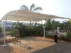 Tensile Roof Car Parking Structures
