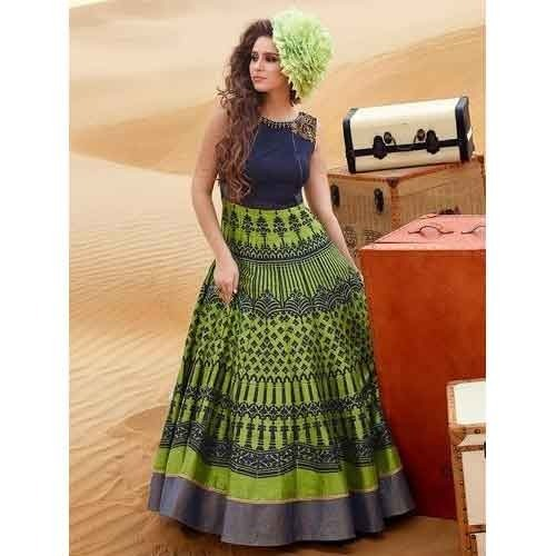 Latest Ladies Gown at Rs 4000 /piece | Ring Road | Surat | ID ...