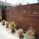 Wooden Brown Exterior Wall Cladding