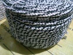 Polyester Rope  balck & whait