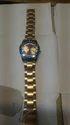 Ladies Golden Wrist Watch