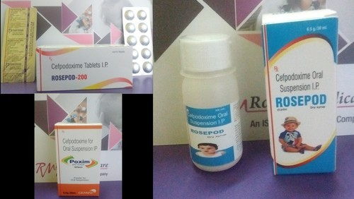 Cefpodoxime Tablet/Dry Syrup   Roseate Medicare
