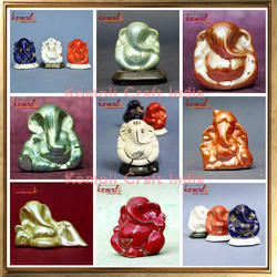 Ceramic Car Ganesha Idol Gift Ganesha Wedding Favors