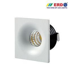 3W LED COB Spotlight Square