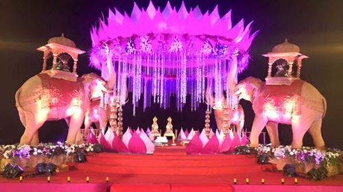 Wedding stage decoration service in alandi devachi pune godse wedding stage decoration service junglespirit Choice Image
