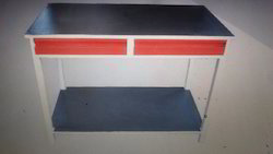 Rectangular Red Work Table