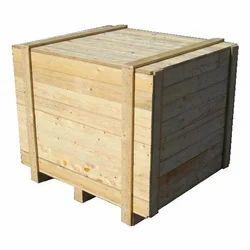 Machine Packing Wooden Pallet Box