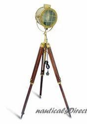 Hand Made Antique Floor Searchlight-Antique Floor Lamp