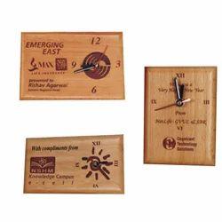 Wooden Engraved Clocks
