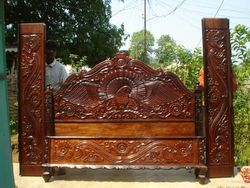 Wooden Single Beds
