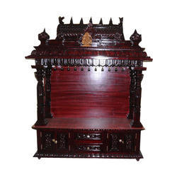 Teak Wood Temple Rosewood Finish