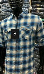 Khadi Printed Republic Men Casual Shirts