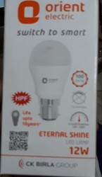 Cool Daylight And Warm White Orient Led Bulb, 5 W And 12 W