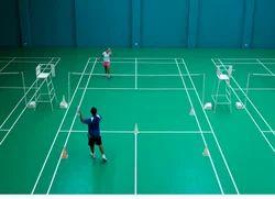 Badminton Center Court Flooring