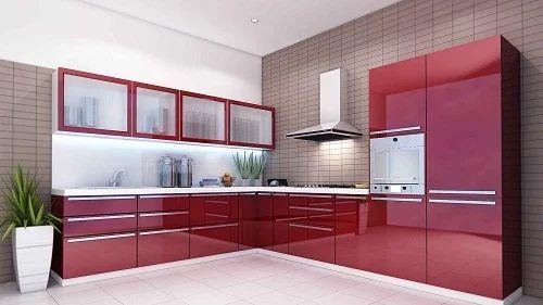 Wondrous L Shaped Modular Kitchen Interior Design Ideas Lukepblogthenellocom