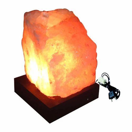 Natural Rock Salt Lamp, Lamp - Global Voice Publishers ...