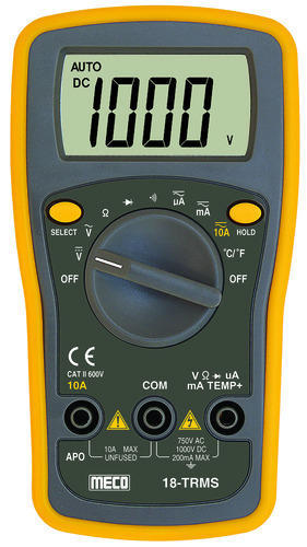 Meco 18 Trms Digital Multimeter