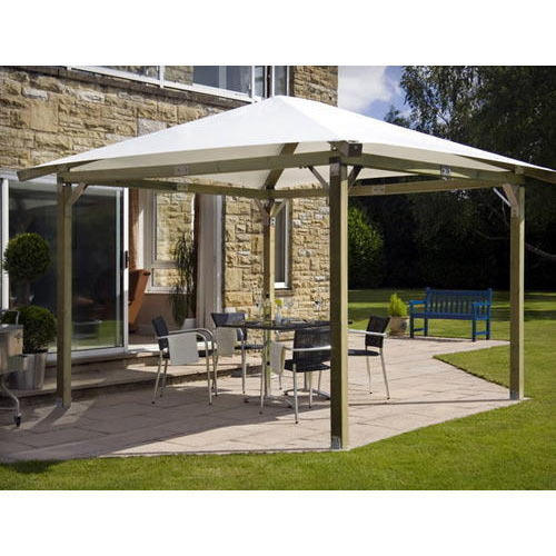 Pyramid White Outdoor Canopies