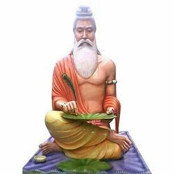 Guru Valmiki Marble Statue