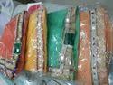 Chiffon Border Designer Saree
