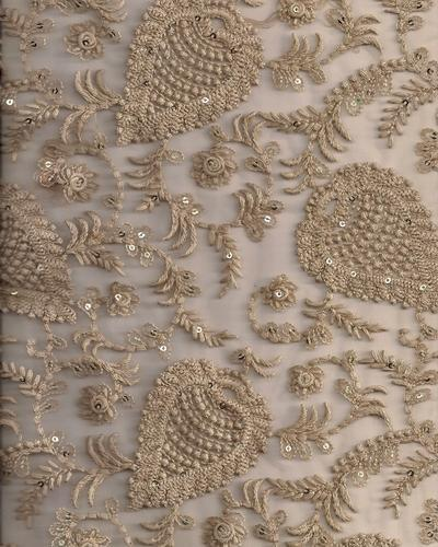 Net Embroidery Fabric At Rs 300 Onwards Embroidered Net Fabric
