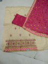 Embroided Suit With Full Chunni Work