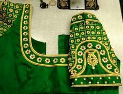 5fc748955694f9 All Sizes Embroidered Bridal Vanki Design Blouses