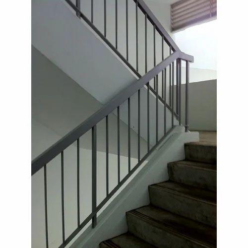 Mild Steel Railing at Rs 410/square feet | MS Railing ...